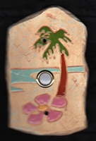 palm tree doorbell