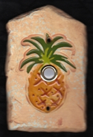 Palm Tree Doorbell Gold Tree Doorbell Pineapple Doorbell ...